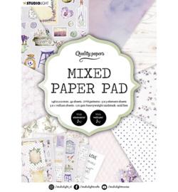 SL-ES-MPP03 - SL Mixed Paper Pad Pattern paper Essentials nr.3