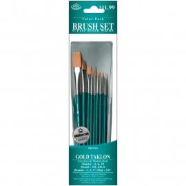 325152 Brush Set Value Pack Gold Taklon