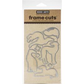 573284 Hero Arts Frame Cut Dies Diamond In The Ruff