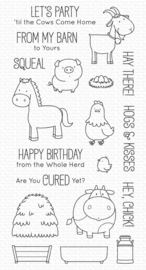 BB-127 My Favorite Things The Whole Herd Clear Stamps