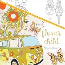 275665 KaiserColour Perfect Bound Coloring Book Flower Child