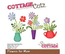 CC-454 Scrapping Cottage Flowers For Mom