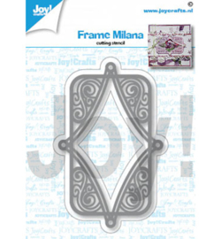 6002/1434 Cutting & embossing Frame Milana