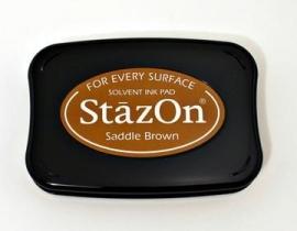 SZ43 StazOn Saddle Brown
