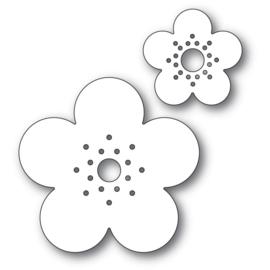 633301 Poppystamps Metal Dies Flora Blooms