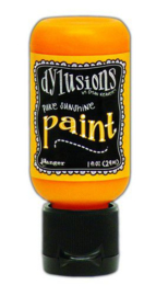 306610/0627 Ranger Dylusions Paint Flip Cap Bottle Pure Sunshine 29ml