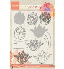 TC0852 Marianne Design Tiny's tulip (layering)