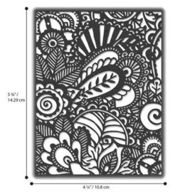 664417 Sizzix Thinlits Die  Doodle Art Tim Holtz