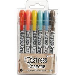 236719 DBK51770 Tim Holtz Distress Crayon Set Set #7