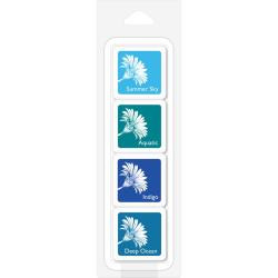 248727 Hero Arts Layering Ink Cubes Tropical Waters