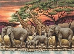 480299 Borduurpakket African Sunset