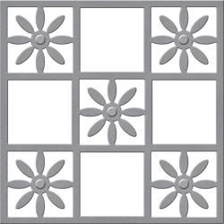 S3245 Spellbinders Shapeabilities Dies Flower Tile