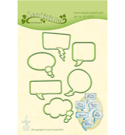 45.4575 Leane Creatief Sentiment Balloons
