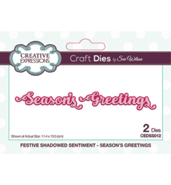 CEDSS012 	Creative Expressions Season's Greetings