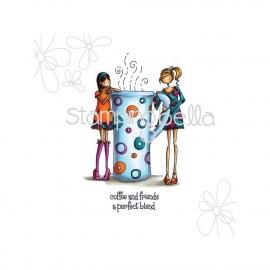 128516 Stamping Bella Stamp Uptown Girls Clarissa & Camille