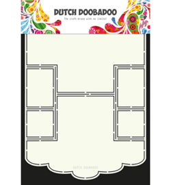 470.713.671 Dutch DooBaDoo Card Art Scallop Edge