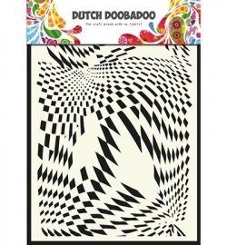 470.715.009 Dutch Doobadoo - Mask Art Stencils Pop Art