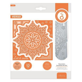 3634E Tonic Studios Die Essentials Decorative Snowflake