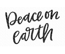 CS-427 My Favorite Things Peace on Earth Clear Stamps