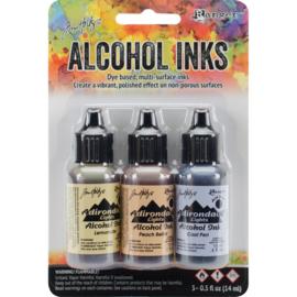396938 TAK25948 Adirondack Inkt Wildflowers-Lemonade/Peach Bellini/Peri