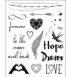 4003.167.00 ViVa Clear Stamps Forever
