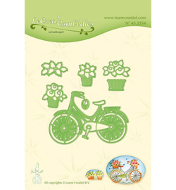 45.3554 Lea'bilitie Cutting/Emb. Bicycle with baskets