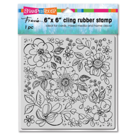 663639 Stampendous Cling Stamps Pop Flowers