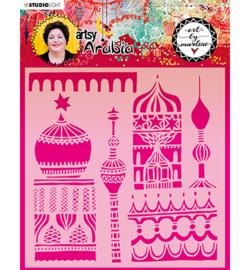 MASKBM10 Art By Marlene Mask Artsy Arabia, nr.10
