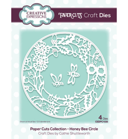 CEDPC1035 The Paper Cuts Collection Honey Bee Circle