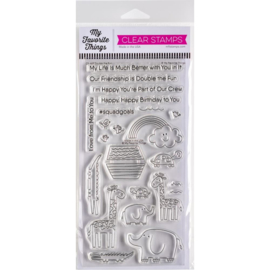 "CS469 My Favorite Things Clear Stamps Double The Fun 4""X8"""