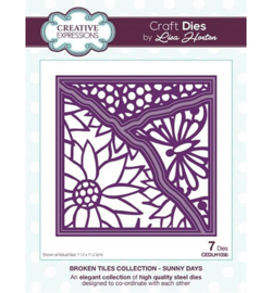 CEDLH1056 Cutting & embossing Sunny Days