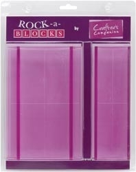 413481 Rock-A-Blocks Stamping Block Set 2/Pkg