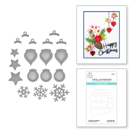 S2317 Spellbinders Etched Dies Holiday Decorations