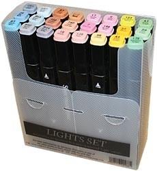 205099 Spectrum Noir Alcohol Markers Lights 24/Pkg