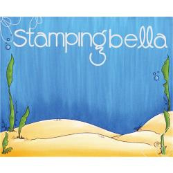 """075862 Stamping Bella Backdrop Cling Stamp Under The Sea 3.75""""X5"""""""