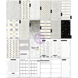 312780 My Prima A5 Planner Inserts Golden Plan