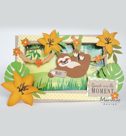 COL1471  Marianne Design Collectables Eline's Sloth