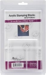 411232 Crafter`s Companion Acrylic Block Add-On Set Of 4