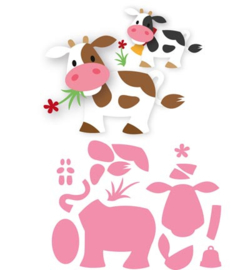 COL1426 Marianne Design Collectables Eline's cow