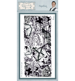 SYR007 Creative Expressions Rubber Stamp Papillon