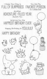 BB-099 My Favorite Things Stamp Birthday Buds