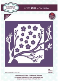 CED1531 Creative Expressions Finishing touches craft die Cherry blossoms