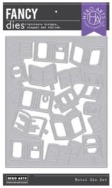 652509 Hero Arts Fancy Dies Peek-A-Boo Books