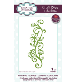 CED1515 The Finishing Touches Collection Climbing Floral Vine