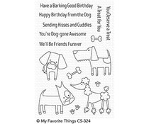 CS-324 My Favorite Things Dog-gone Awesome Clear Stamps