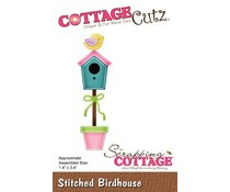 CC-465 Scrapping Cottage Stitched Birdhouse