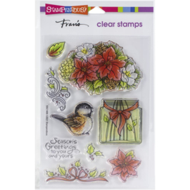 SSC1406 Stampendous Perfectly Clear Stamps Season Shapes