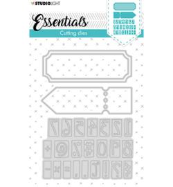 STENCILSL360 Studio Light Cutting Die Essentials nr.360