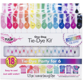 159252 Tulip One-Step 18-Color Tie Dye Kit