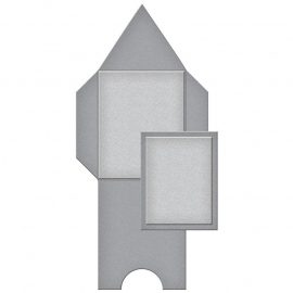 S4617 Spellbinders Shapeabilities Dies Pointed Mini Envelope